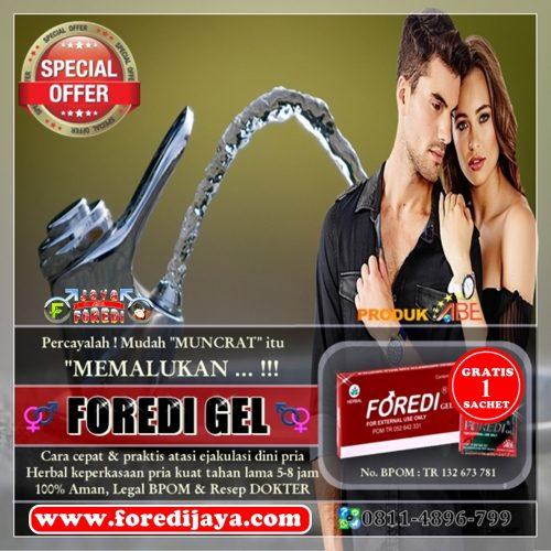 Jual Foredi gel Asli Harga Murah di Badung Bali - Promo Gratis 1 Sachet