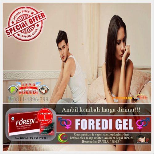 Jual Foredi gel Asli Harga Murah di Gianyar Bali - Promo Gratis 1 Sachet