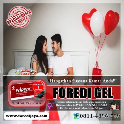 Jual Foredi gel Murah di Gunung Kidul Yogyakarta - Gratis 1 Sachet