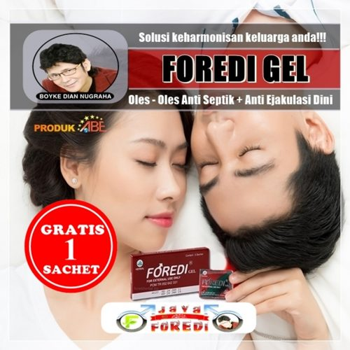 Jual Foredi gel Murah di Kepulauan Seribu Jakarta - Gratis 1 Sachet