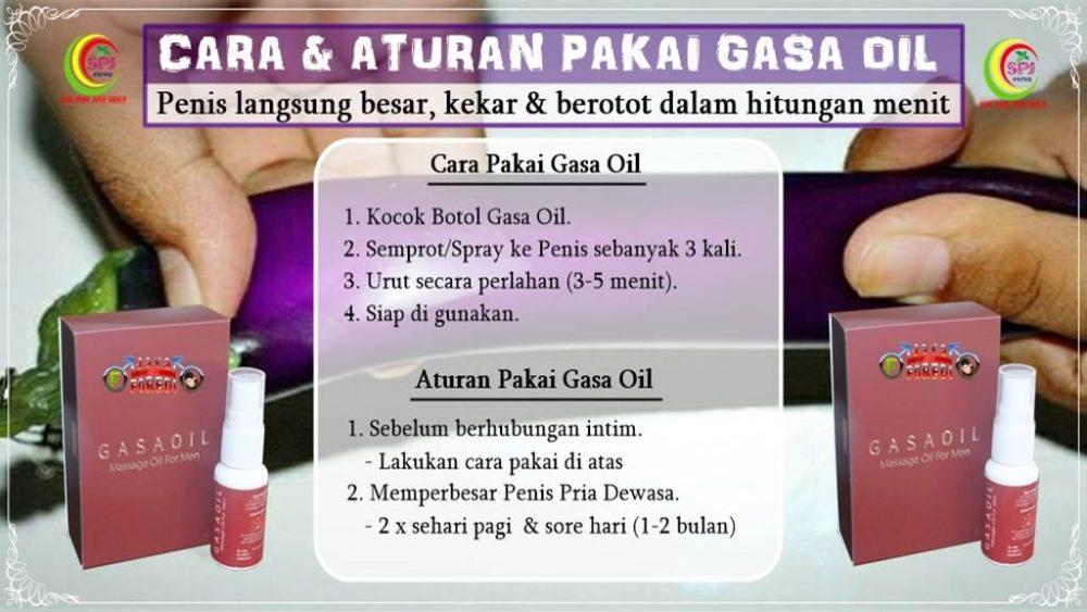 Cara pakai gasa oil yang benar agar hasil maksimal
