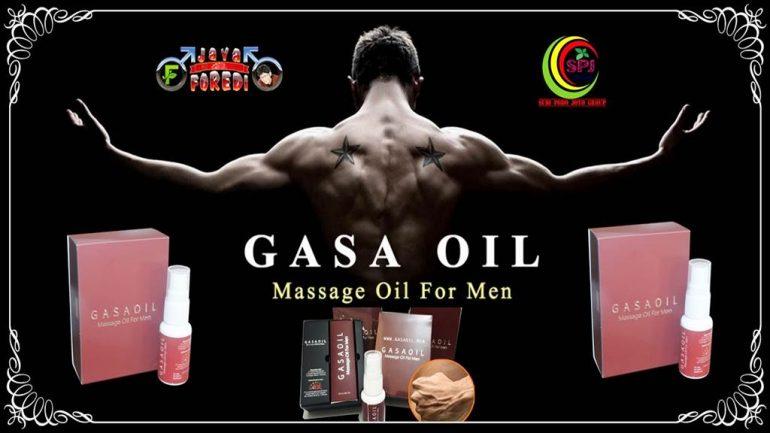 Gasa Oil Massage Oil for Men