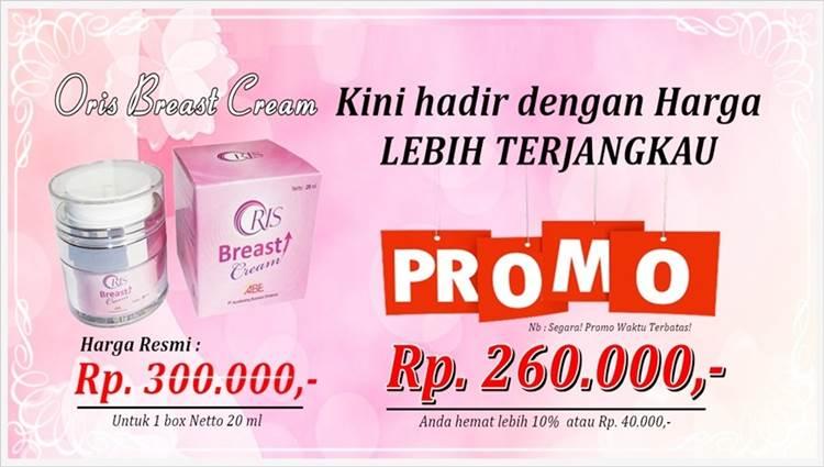 Promo Oris Breast Cream Harga Murah
