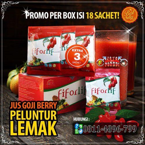 Fiforlif gratis 3 sachet