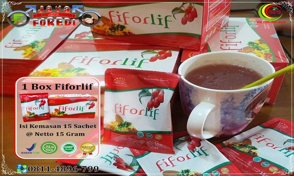Kemasan Fiforlif Asli 1 box isi 15 Sachet
