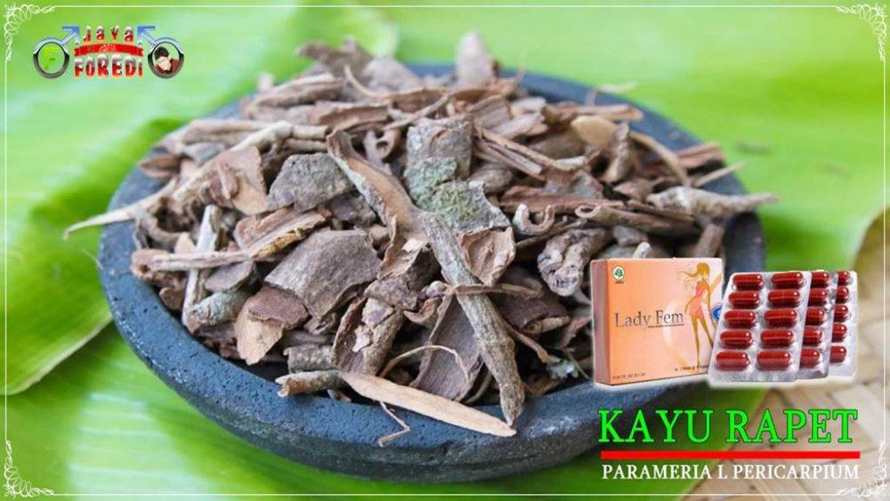 Komposisi Ladyfem mengandung herbal kayu rapet
