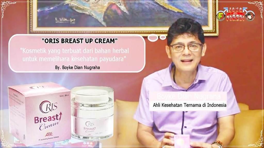 Testimoni Oris Breast Cream Dokter Boyke