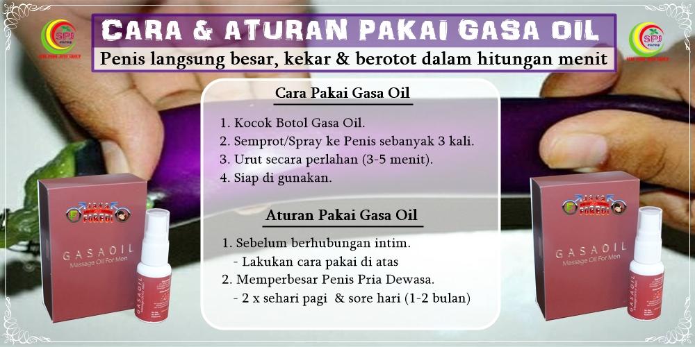 Cara Pakai Gasa Oil yang benar & tepat