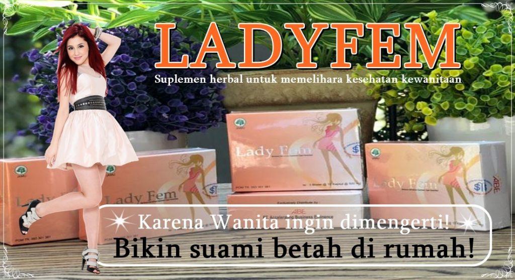 Kapsul herbal Ladyfem