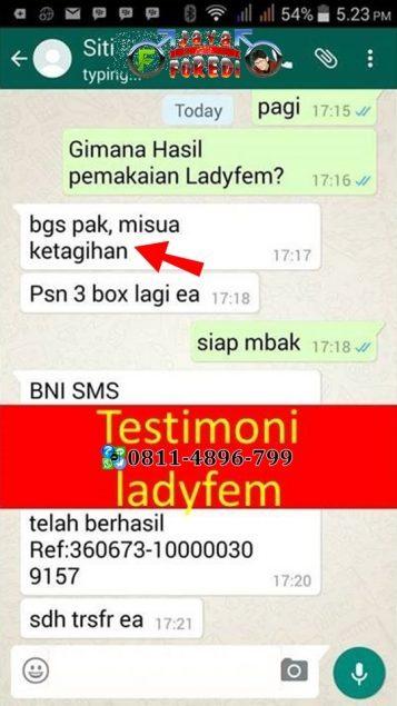 Testimoni ladyfem untuk suami betah di rumah