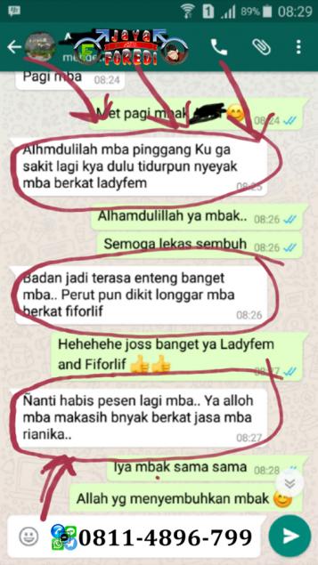 Testimoni Pengguna Ladyfem memelihara kesehatan Kewanitaan 3