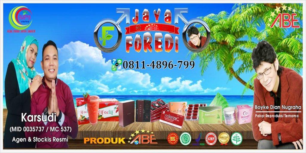 Agen, Distributor, Stockis resmi Foredi gel terbesar dan terpercaya