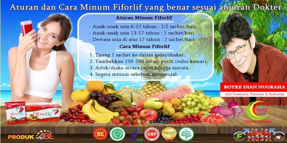 Cara Minum Fiforlife agar hasil maksimal
