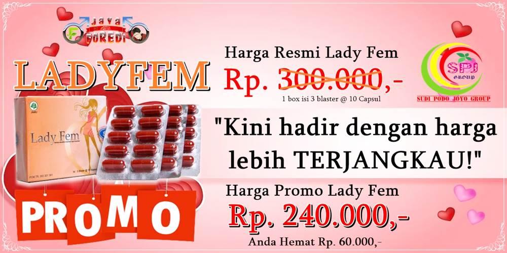 Harga Ladyfem promo termurah