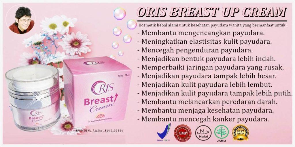 Manfaat oris breast cream