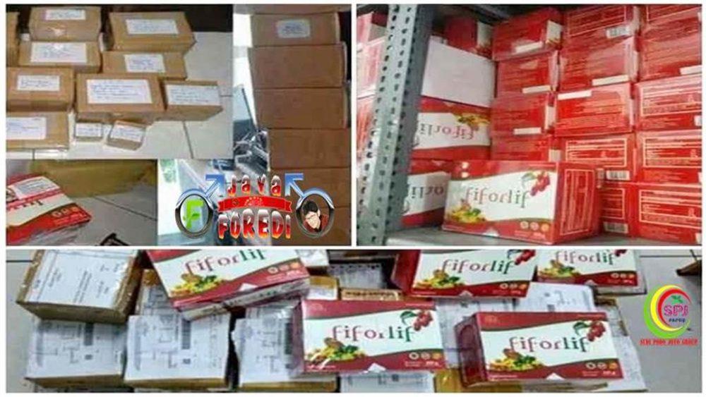 Stock dan pengiriman Produk Fiforlif ke seluruh wilayah di Indonesia bahkan sampai ke mancanegara