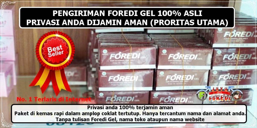 Stock dan pengiriman Foredi ke seluruh wilayah Indonesia