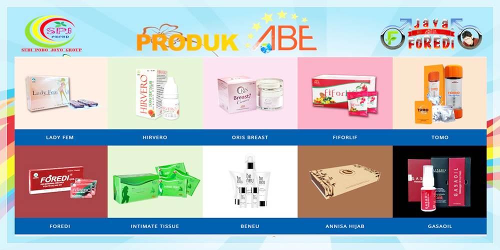 Produk-produk ABE rekomendasi Boyke Dian Nugraha