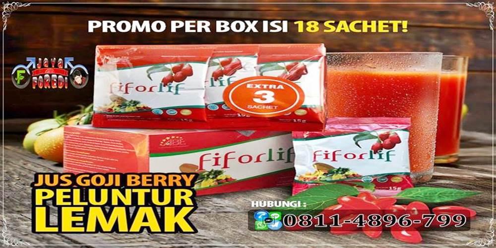 Promo Fiforlife gratis 3 saset