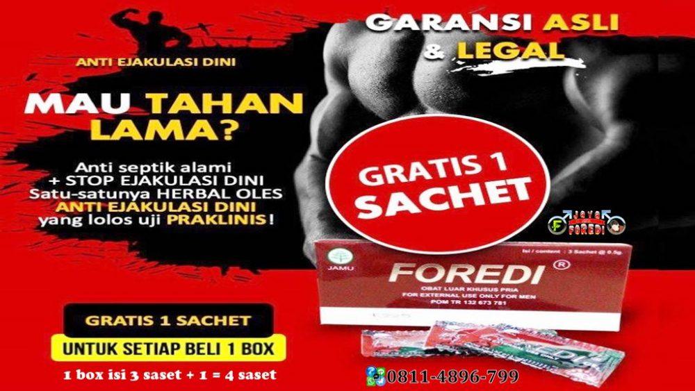 Promo Foredi gratis 1 saset