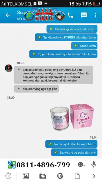 Testimoni Pengguna Oris Breast Cream 5
