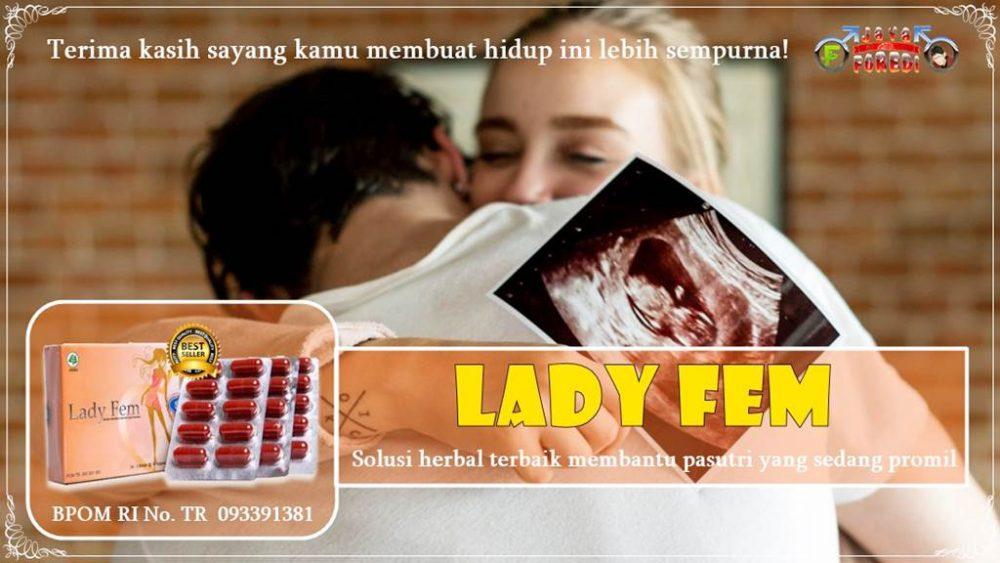 cara minum ladyfem untuk promil