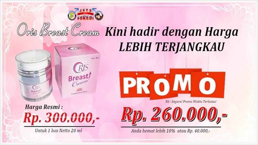 Harga Oris Breast Cream Promo Terbaru