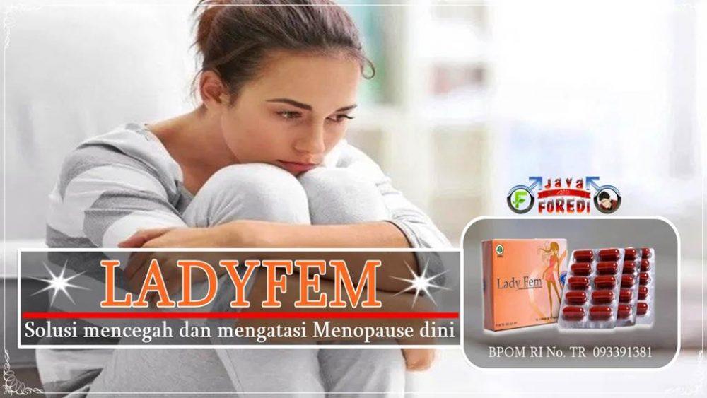Manfaat Ladyfem untuk membantu mengatasi menopause dini