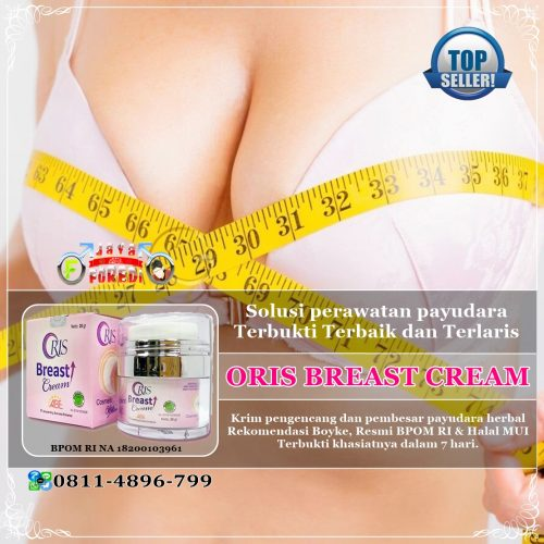 Jual Oris Breast Cream asli harga murah di Lebak Banten