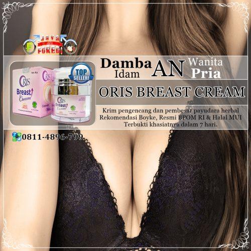 Jual Oris Breast Cream Asli Harga Murah di Jepara Jawa Tengah