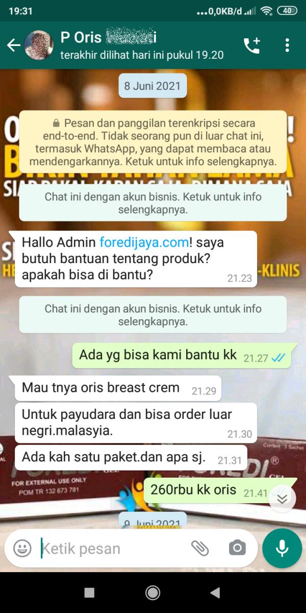 Orderan Produk ABE dari Malaysia 1